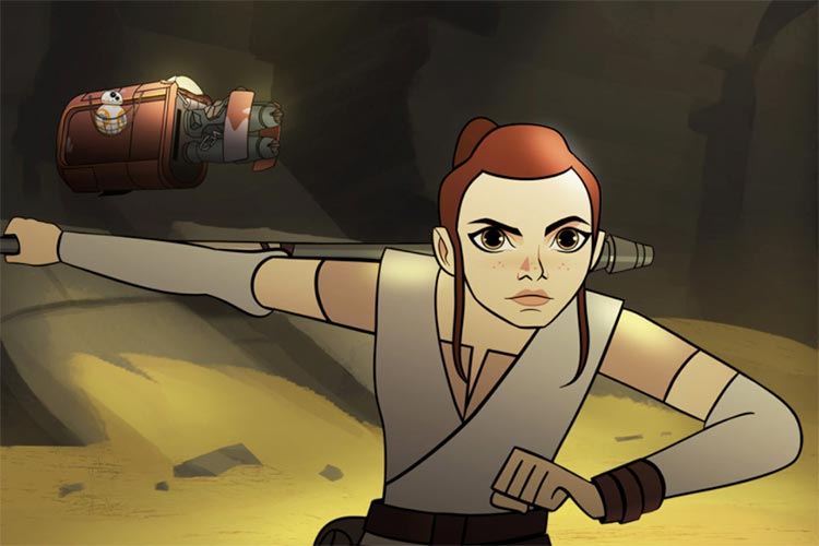 Las mujeres de Star Wars protagonizan la serie Star Wars Forces of Destiny