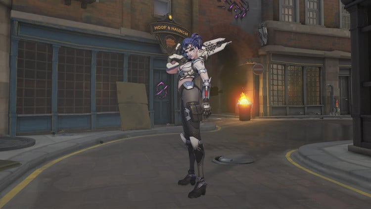 Skins de Rebelion Widowmaker