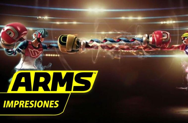 primeras impresiones de arms
