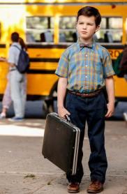 Primeras imágenes del joven Sheldon