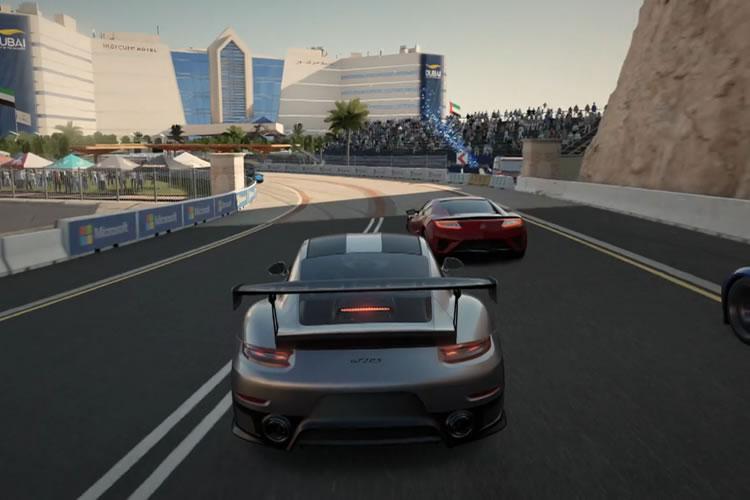 Porsche arropa el anuncio de Forza Motorsport 7 por parte de Microsoft