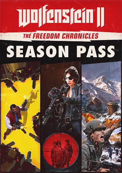 contenido del pase de temporada de Wolfenstein II