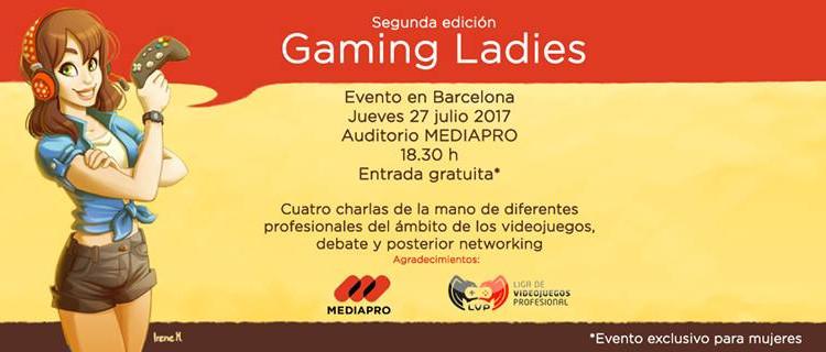 fecha y lugar de la segunda edicion de gaming ladies