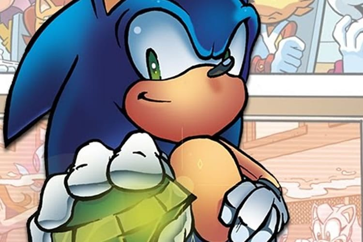 nuevo comic de sonic th hedgehog
