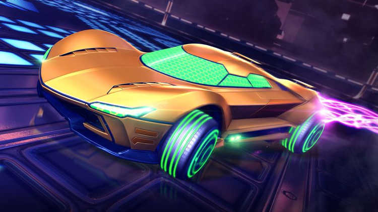 coches de Metroid y Mario en Rocket League 2