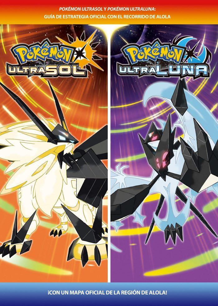 guía oficial de Pokémon Ultrasol y Ultraluna