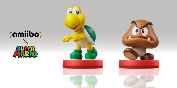amiibos Goomba y Troopa de Mario & Luigi Superstar Saga