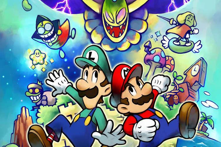 amiibos Goomba y Troopa de Mario & Luigi: Superstar Saga