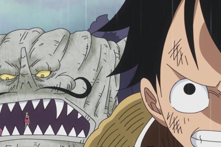 one piece 805 luffy y nami