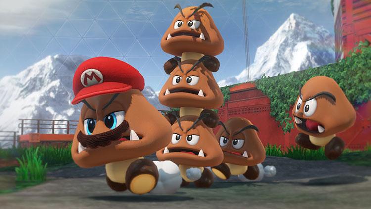 trabajo de Super Mario