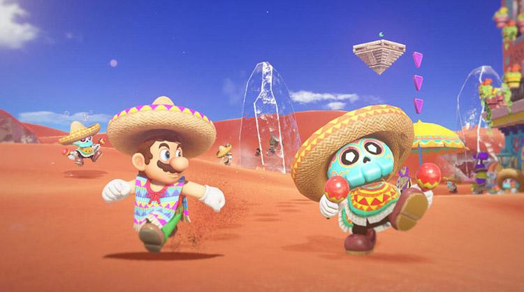 amiibo compatibles con Super Mario Odyssey