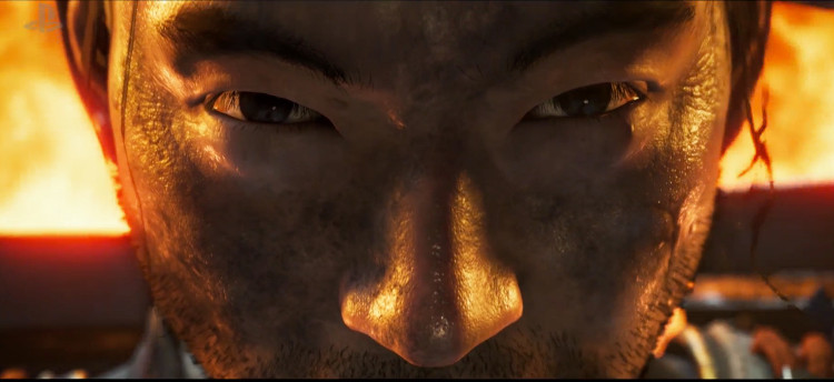 anuncio de Ghost of Tsushima