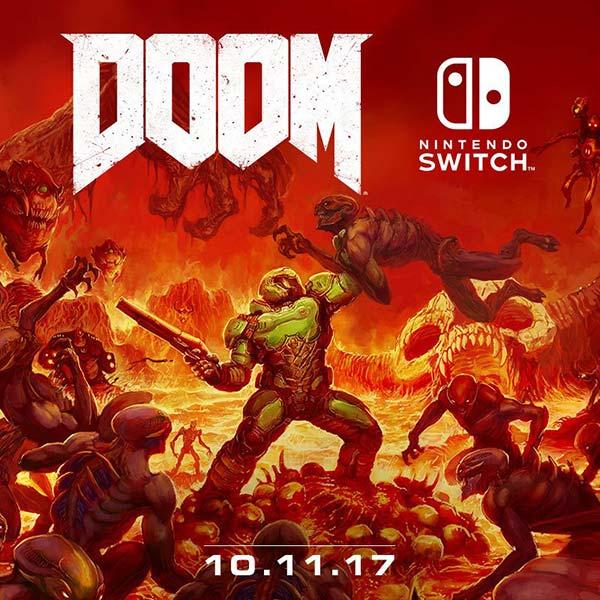 fecha de lanzamiento de DOOM en Nintendo Switch