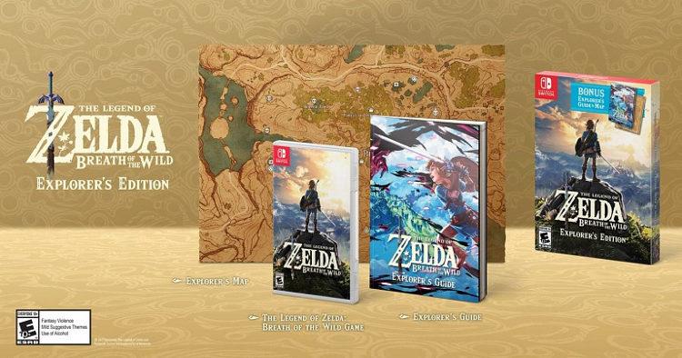 Explorer's Edition de Zelda: Breath of the Wild