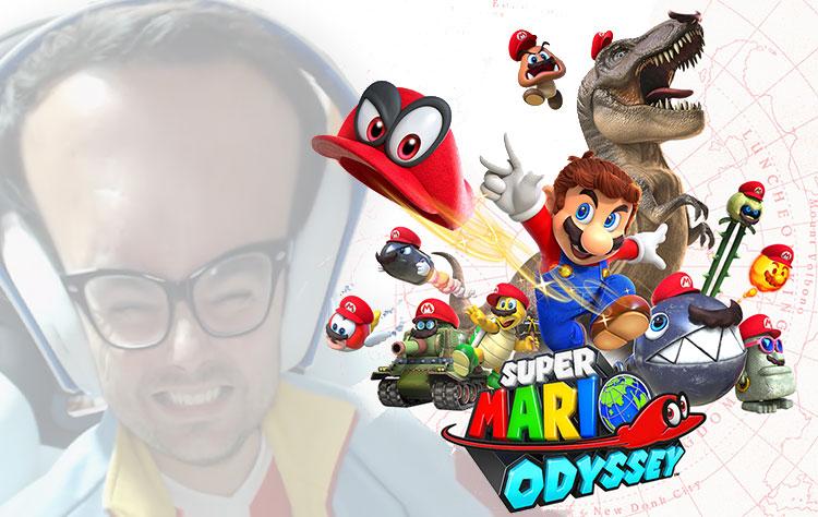 Los gameplays de Super Mario Odyssey más ÑARDERS