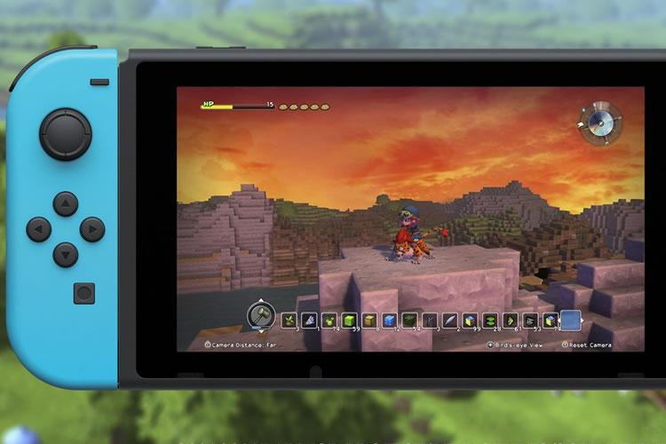 fecha de lanzamiento de dragon quest builders para nintendo switch