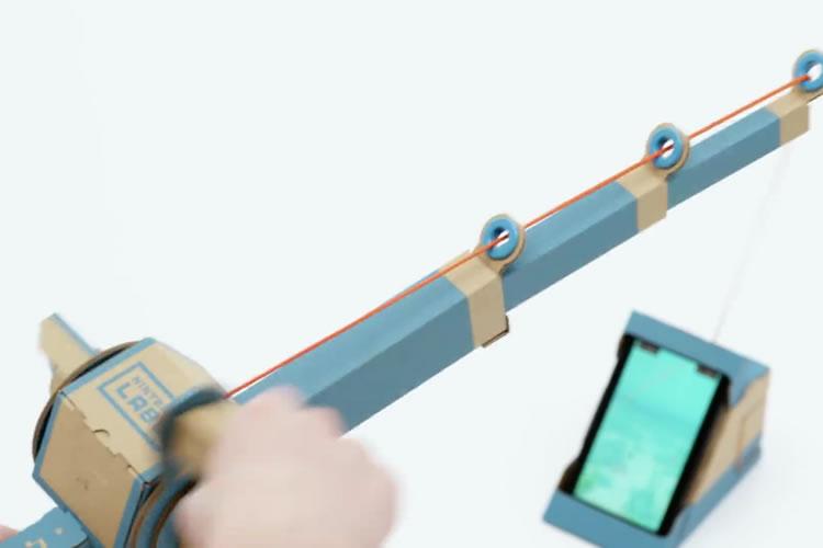 toy-con de Nintendo Labo caña