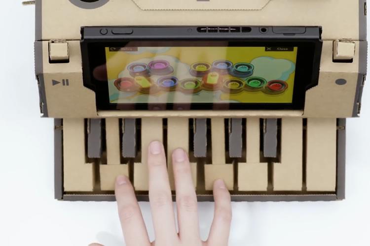 toy-con de Nintendo Labo piano
