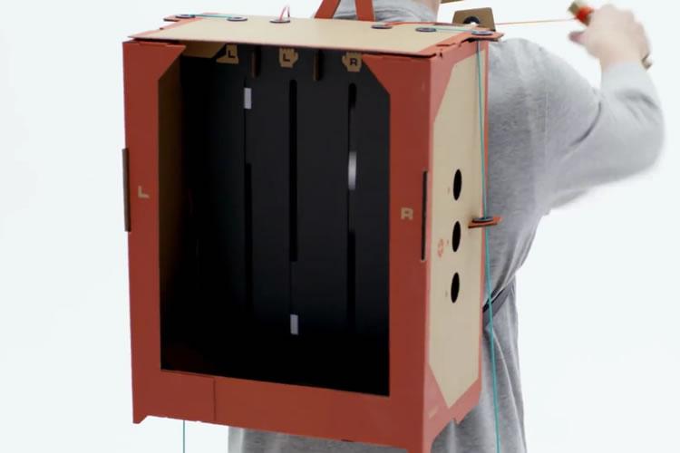 toy-con de Nintendo Labo robot