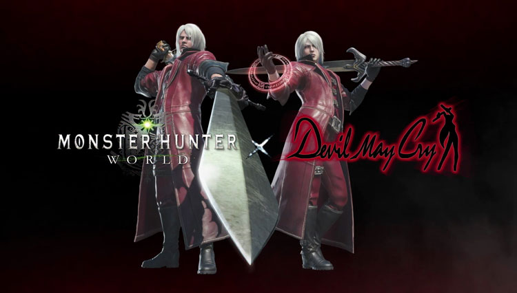 Capcom anuncia una colaboración entre Monster Hunter World y Devil May Cry