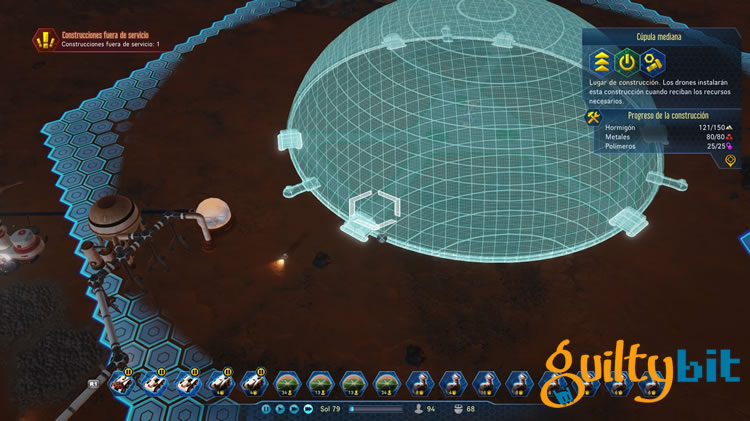 analisis de surviving mars para ps4 y pc