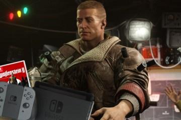 fecha de salida de Wolfenstein 2 en Switch