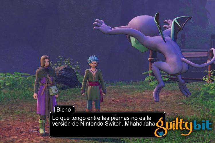 lanzamiento de dragon quest xi en nintendo switch