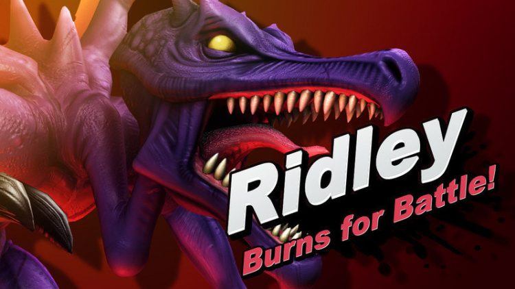 Ridley en Super Smash Bros Ultimate