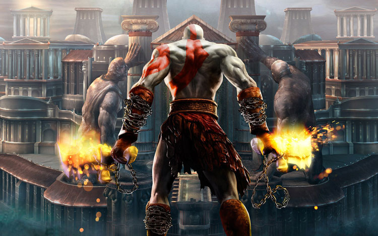 Imaginan a Dave Bautista como Kratos de God of War