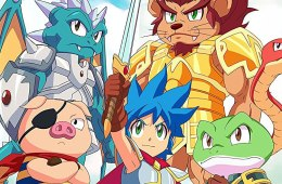 trailer del e3 de monster boy and the cursed kingdom