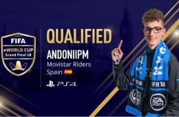 AndoniiPM, listo para el Mundial