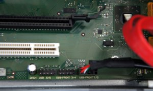 MX130 S2 USBピンヘッダー デフォルト状態