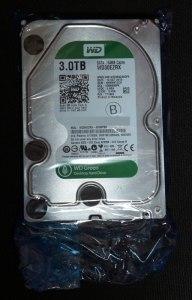 Buffshop HDD たぶん静電気防止袋入り