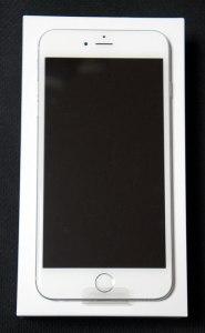 iPhone 6 Plus 開封直後