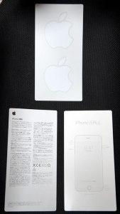 iPhone 6 Plus 付属文書とか