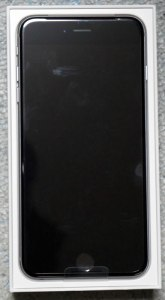 iPhone 6s Plus 開封直後・表
