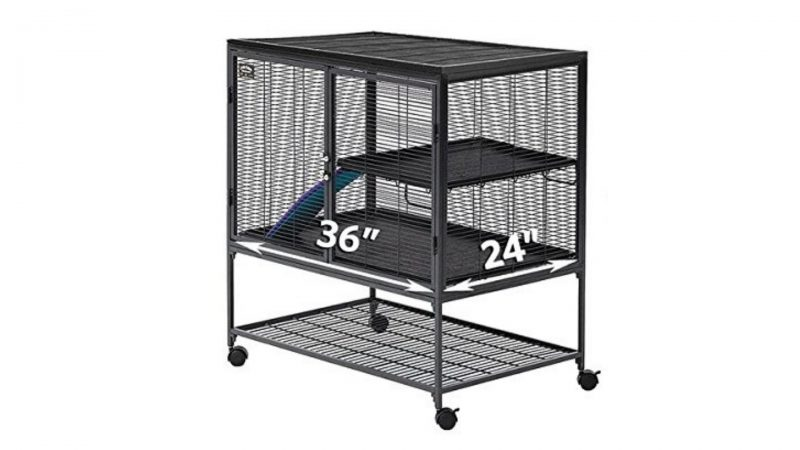 Midwest Deluxe Critter Nation guinea pig cage