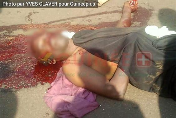 Crime à N'zérékoré. Un homme a assassiné sa femme avant de se suicider à cause de leur enfant.