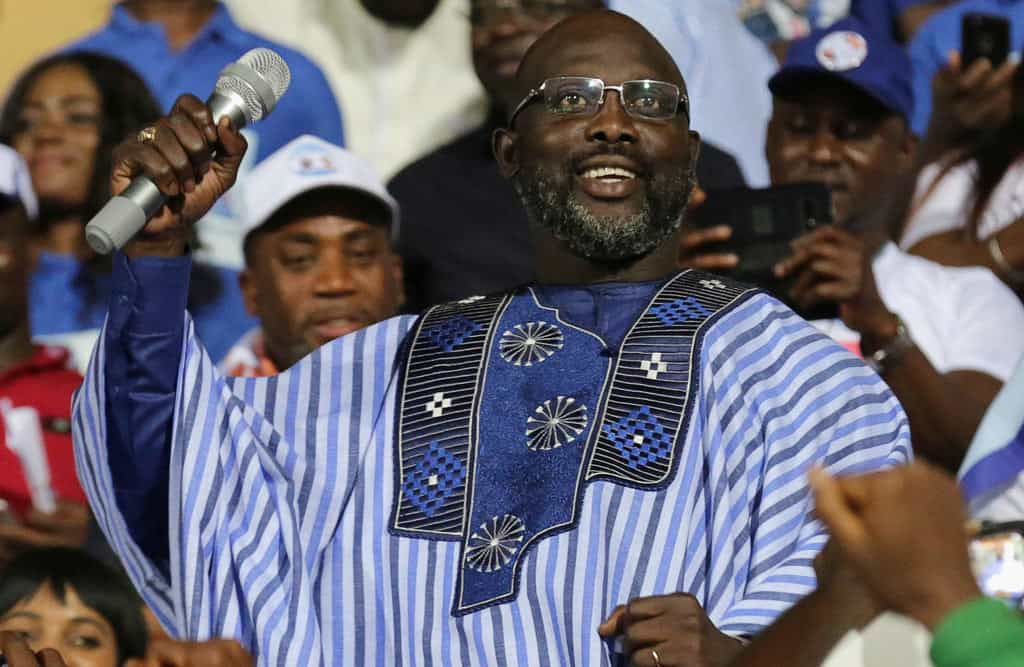 Liberia election: George Weah elected president