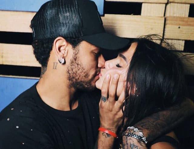 Le footballeur brésilien s'est remis avec son ex-compagne, l'actrice Bruna Marquezine.