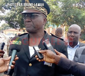 le gouverneur de région, Mohamed Ismaël Traoré