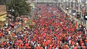 Marche de protestation contre le président Alpha Conde en janvier 2020 (Image/Archives)