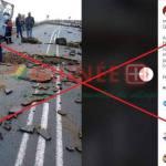 Non, cette photo ne montre pas des opposants politiques en train de détruire une route en Guinée