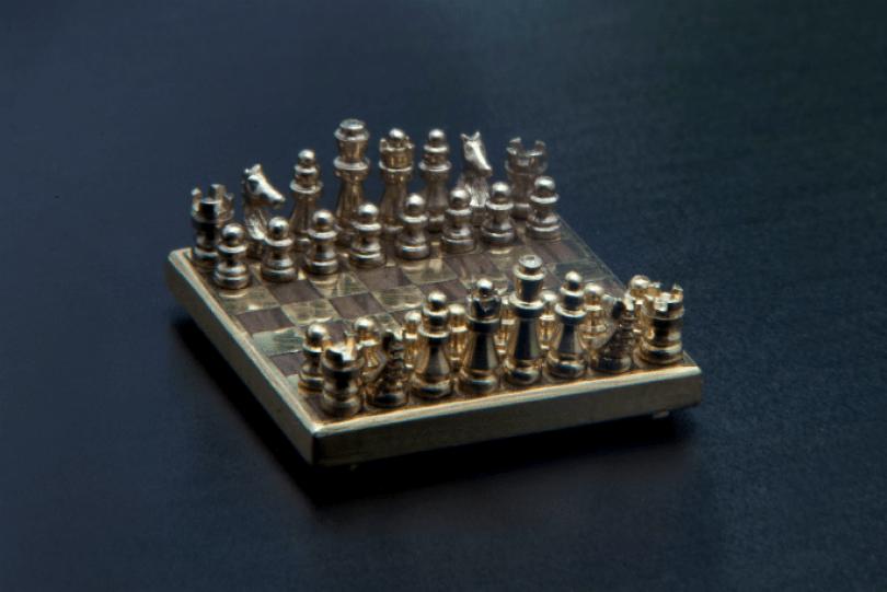 chess tcm28 486533 - O menor tabuleiro de xadrez do mundo