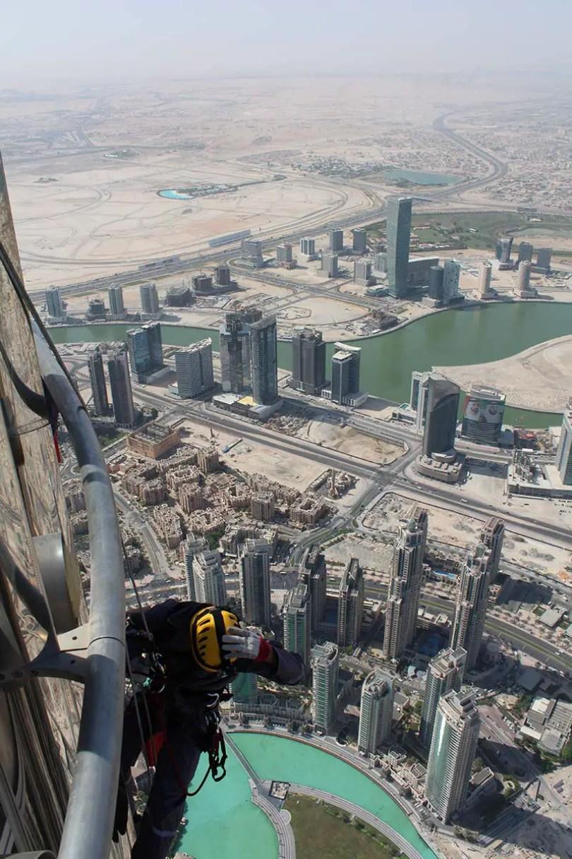 Escalada de Burj Khalifa