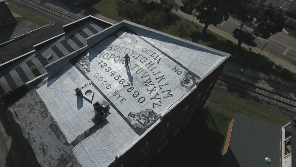 Largest Ouija board 2