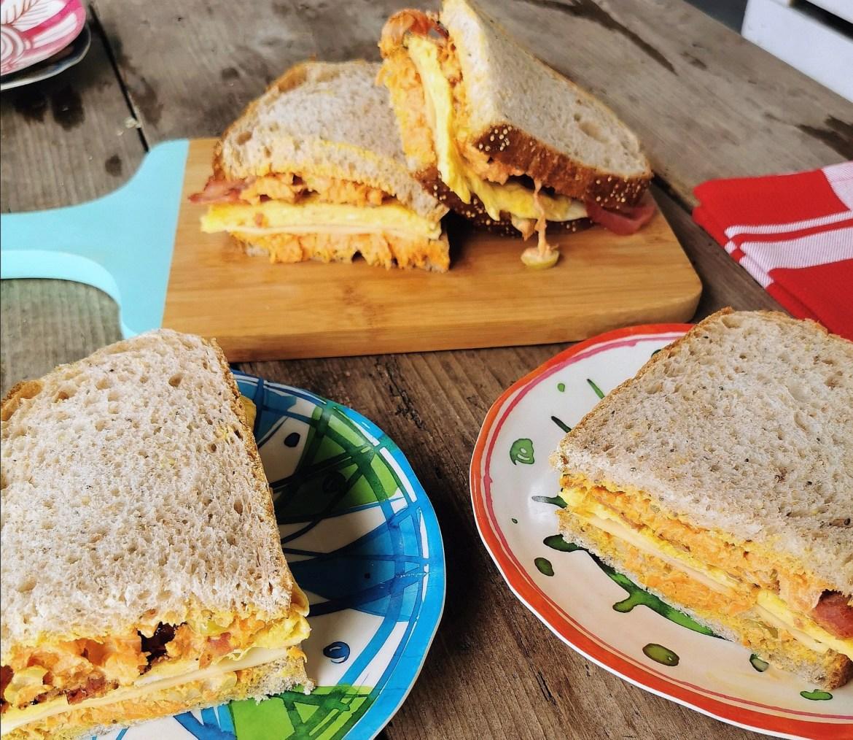 sandwich de cou