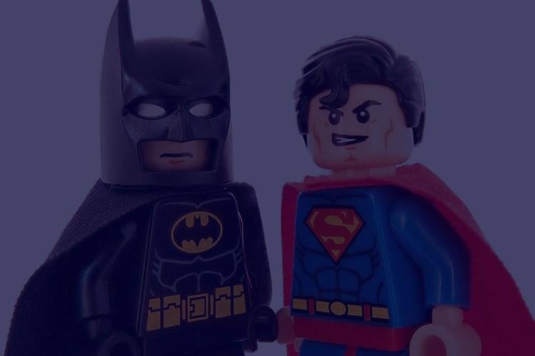 Batman e Superman - Lego
