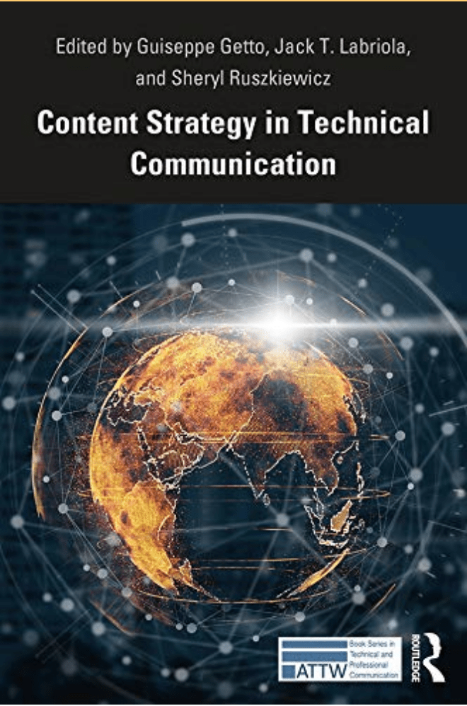 The cover of the book Content Strategy in Technical Communication