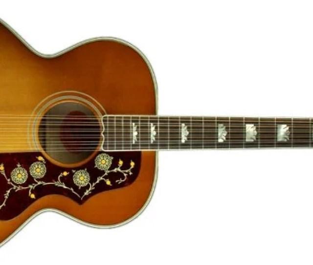 Gibson Sj 200 12 String Acoustic Guitar